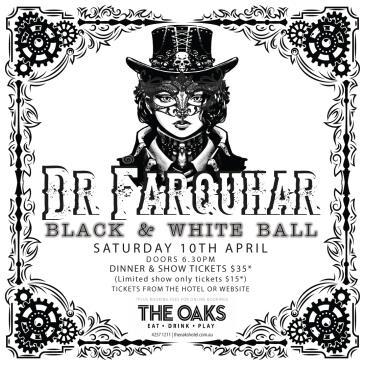 Dr Farquhar Black & White Ball: Main Image