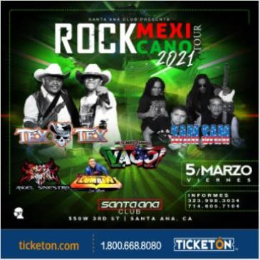 ROCK MEXICANO TOUR 2021