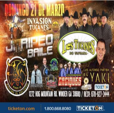 LOS TUCANES, EL YAKI Y MAS!: Main Image
