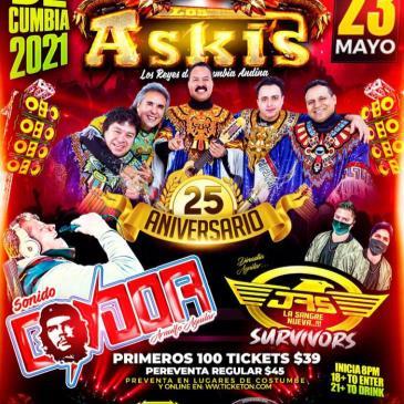 LOS ASKIS 25 ANIVERSARIO