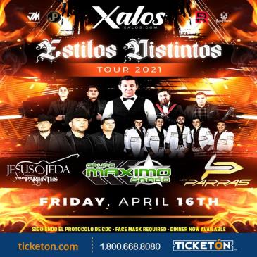 ESTILOS DISTINTOS TOUR 2021