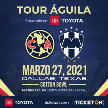 CLUB AMERICA VS MONTERREY