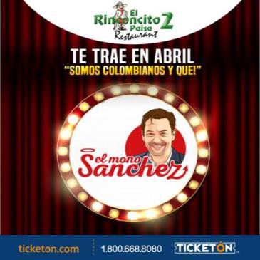 """CARLOS EL MONO SANCHEZ """"SOMOS COLOMBIANOS Y QUE"""": Main Image"""