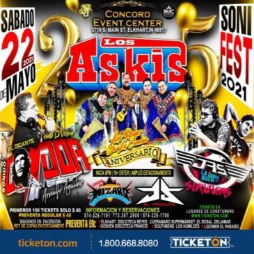 LOS ASKIS - CONDOR - LOS JRS: Main Image