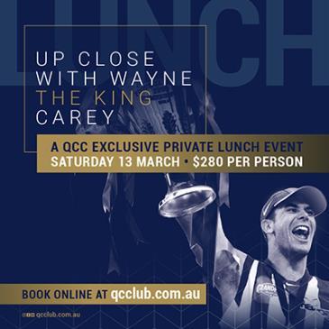 Up Close with Wayne Carey: Main Image