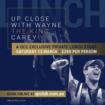 Up Close with Wayne Carey-img