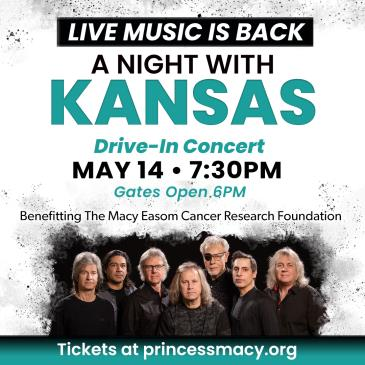 Kansas Presented By: Macy Easom Cancer Research Foundation: Main Image