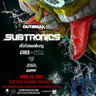 April 24 - Subtronics LIVE (Saturday): Main Image