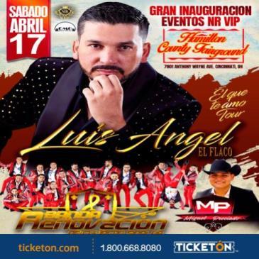 """LUIS ANGEL """"EL FLACO"""" Y BANDA RENOVACION.: Main Image"""