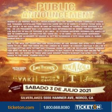 LOS TUCANES,  RAMON AYALA, EL YAKI Y MAS!