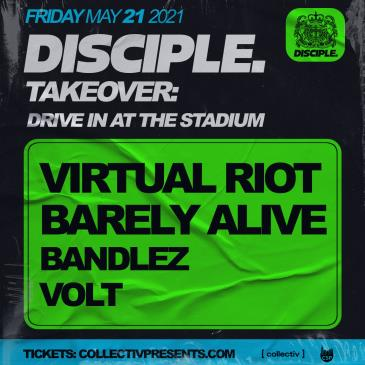 May 21 - Disciple Takeover LIVE (CANCELLED): Main Image