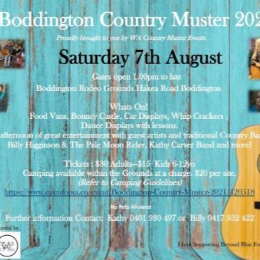 Boddington Country Muster 2021