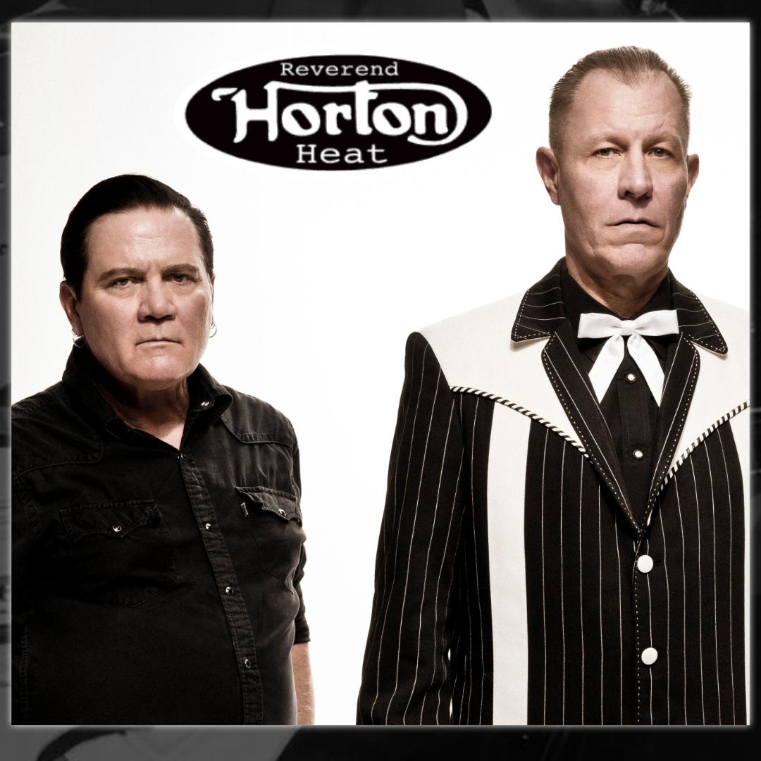 Reverend Horton Heat show poster