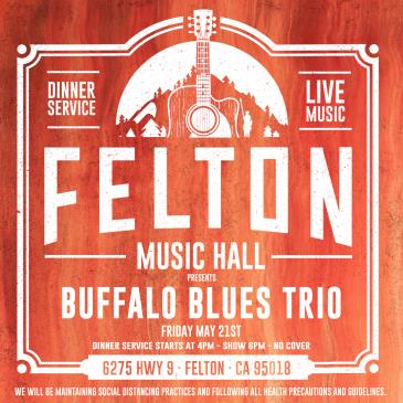 Buffalo Blues Trio (Dinner & Show - No Cover):
