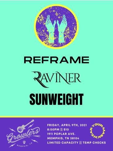 Raviner x ReFrame x Sunweight: Main Image