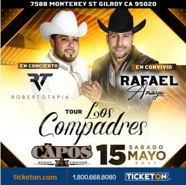 TOUR LOS COMPADRES EN GILROY: Main Image