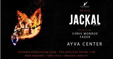 Jackal / Ayva / 04.16 customer appreciation show: Main Image