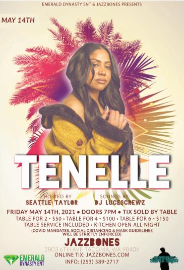 Tenelle: Main Image