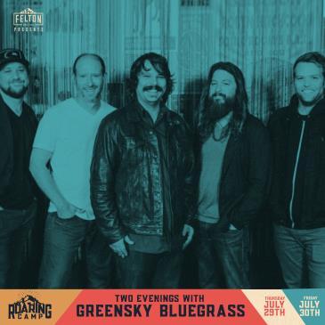 An Evening With Greensky Bluegrass | Night 2: Main Image