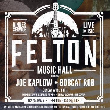 Joe Kaplow & Bobcat Rob (Dinner & Show- No Cover): Main Image