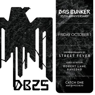 Das Bunker 25th Anniversary: