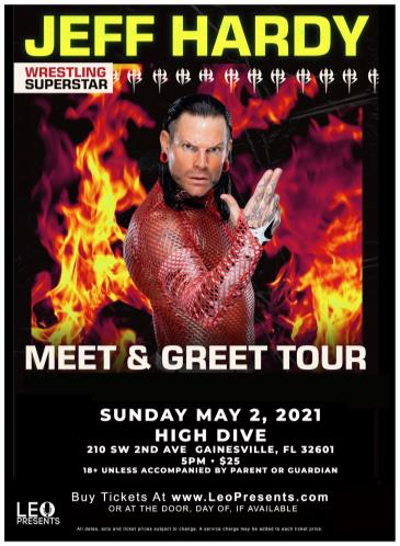 Jeff Hardy (WWE) Meet & Greet Tour: Main Image