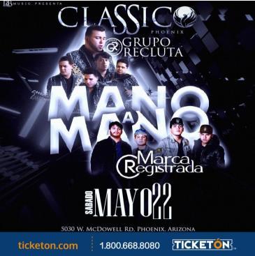 MANO A MANO TOUR 2021: Main Image