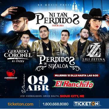NI TAN PERDIDOS TOUR 2021: Main Image