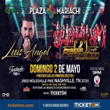 """LUIS ANGEL """"EL FLACO"""" Y BANDA RENOVACION"""