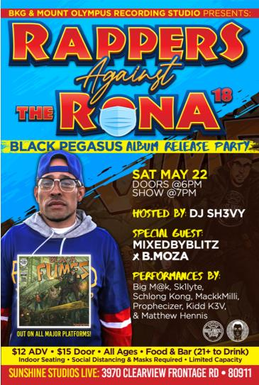 Rappers Against The Rona 18: Main Image