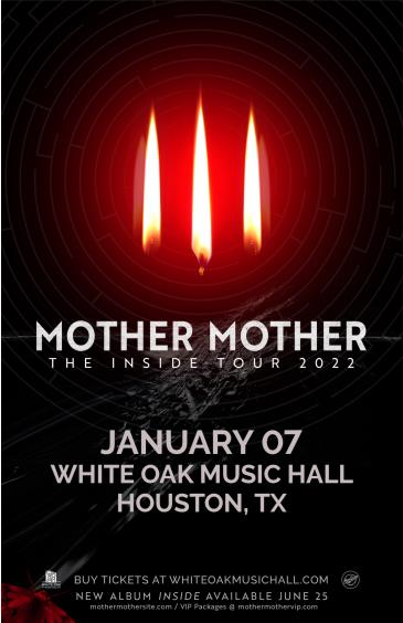 Mother Mother - The Inside Tour 2022: Main Image