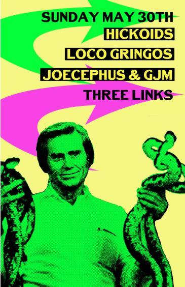 Gringopalooza w/ Hickoids & Loco Gringos: Main Image