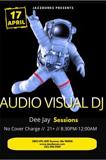 Dj Sessions//Audio Visual Set: Main Image