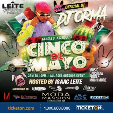 5 DE MAYO FIESTA W/BADBUNNYS DJ ORMA: Main Image
