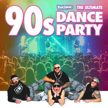 90s Dance Party w/ Fool House in Evansville, IN: Main Image