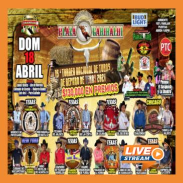 LIVE STREAMING - 15 TORNEO NACIONAL DE TOROS