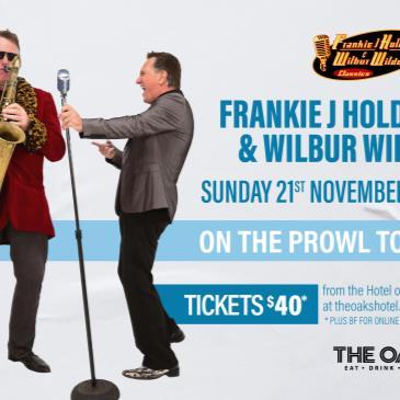 Frankie J Holden & Wilbur Wilde - ON THE PROWL TOUR-img