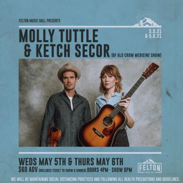 Molly Tuttle & Ketch Secor | Night 1 (Fully Seated Show): Main Image