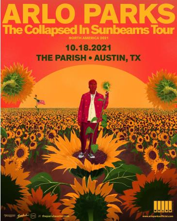 SOLD OUT: Arlo Parks - The Collapsed In Sunbeams Tour 2021: Main Image