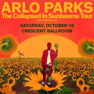 Arlo Parks - The Collapsed In Sunbeams Tour 2021: Main Image