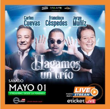 CARLOS CUEVAS,FRANCISCO CÉSPEDES&JORGE MUÑIZ-HAGAMOS UN TRIO: Main Image