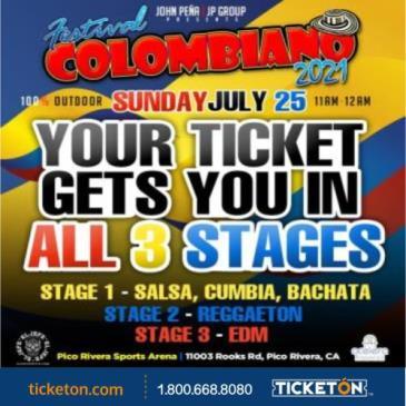 FESTIVAL COLOMBIANO 2021: Main Image