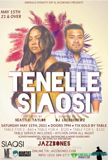 Tenelle (21+): Main Image