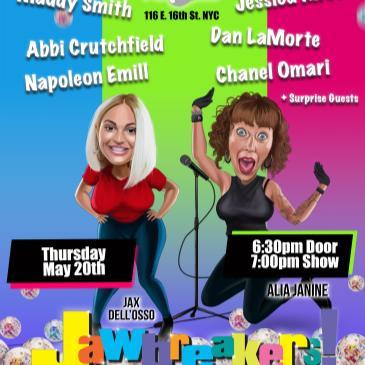 Alia Janine & Jax Dell'Osso Presents JAWBREAKERS!-img