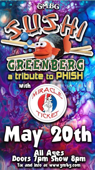 Sushi Greenberg (Phish Tribute): Main Image