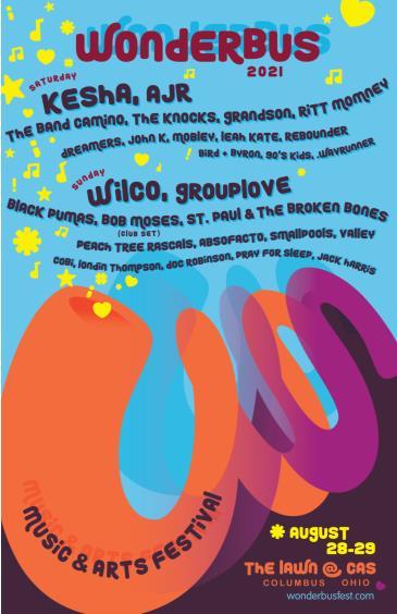 WonderBus Music & Arts Festival: Main Image