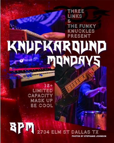 Knuckaround Mondays with The Funky Knuckles & Friends: Main Image