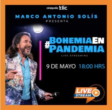 MARCO ANTONIO SOLIS: BOHEMIA EN PANDEMIA: Main Image