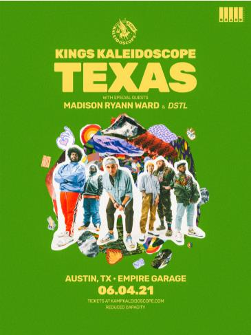 Kings Kaleidoscope with Madison Ryann Ward and DSTL: Main Image