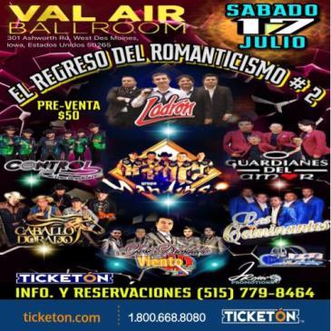 EL REGRESO DEL ROMANTICISMO Val Air Ballroom: Main Image